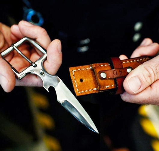 Leather-Belt-Knife-Buckle